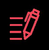 Icône d'un crayon